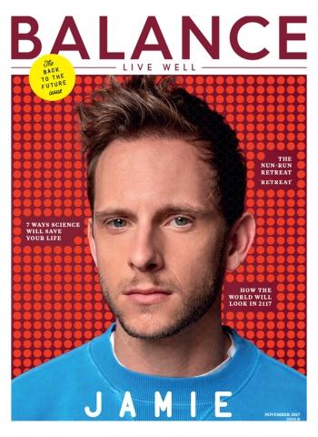 Jamie Bell, Balance Magazine