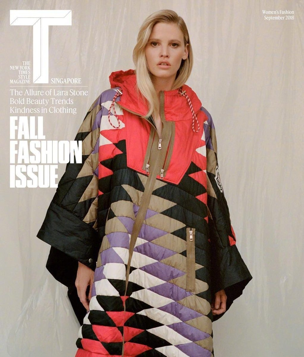 Lara Stone, The New York Times Style Magazine