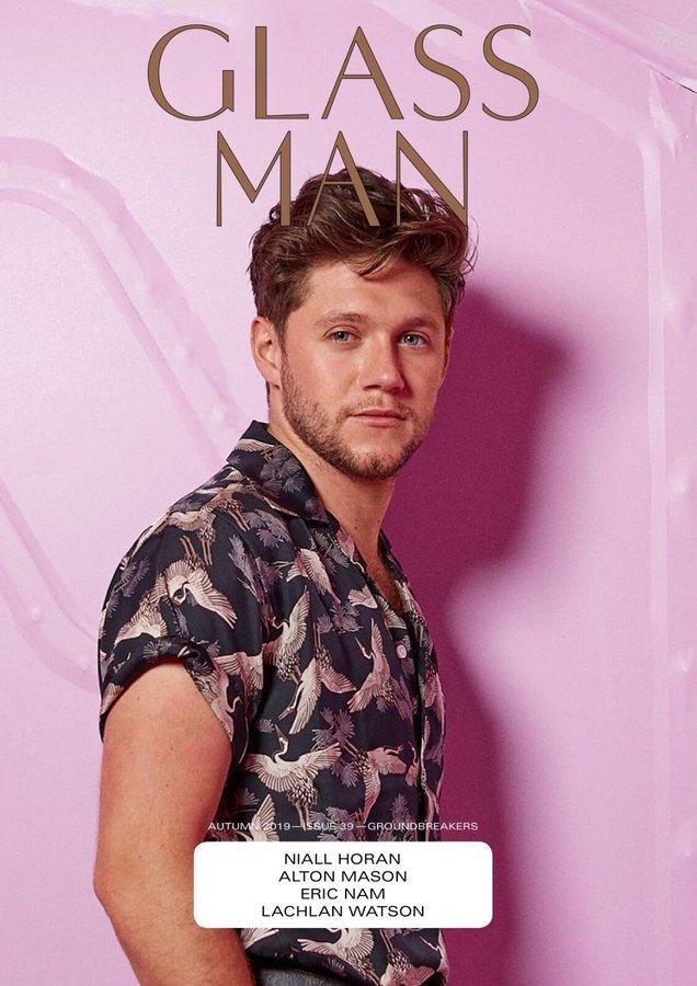 Niall Horan, Glass Magazine